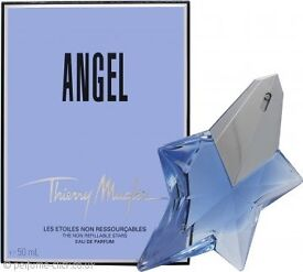 NEW IN box and packaging Thierry Mugler Angel Eau de Parfum 50ml Spray RRP £63.00.