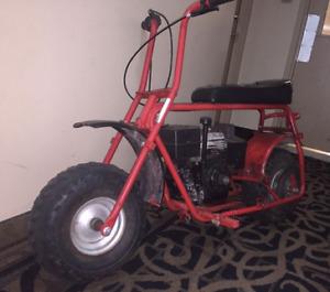 I am looking for a mini bike.