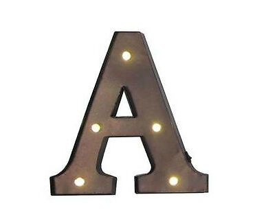 Marquee Letter