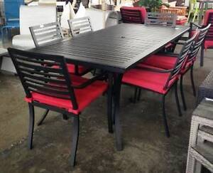 Tribeca 7 pce Outdoor Dining Setting Revesby Bankstown Area Preview