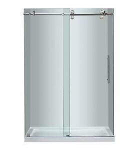 frameless shower door ebay