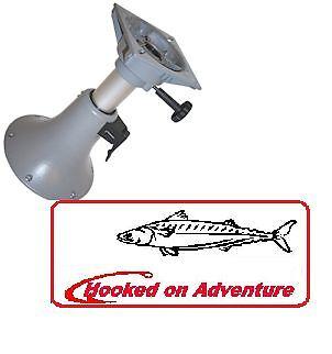 Seat Pedestal Adjustable Premium Boat Pedestals Powder Coated Aluminium