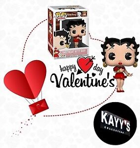 "Funko Pop Betty Boop VALENTINE's ""KAYY'S Collection"" Place Vertu"