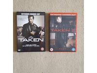''Taken 1 and 2'', Region 2 DVD Bundle, *Mint Condition*