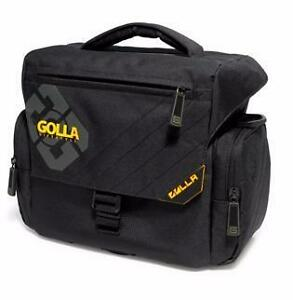 Golla Large Camera Bag - PRO - Black/Dark Gray - G779 - Media: Camera