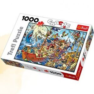 TREFL PUZZLE 1000 PCS. CHAOTIC COMME NEUF TAXES INCLUSES