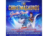 3 Christmasaurus FRONT STALLS Tickets 23/12/17