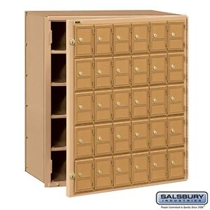 For Sale Salsbury Mailbox -- 30 Doors - Front Loading      Watch