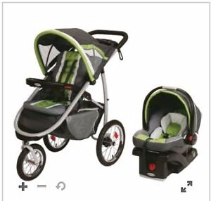Graco® FastAction Fold Jogger Click Connect Travel System