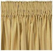 Gold Eyelet Curtains