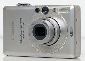 Appareil photo numérique Canon Sd 300