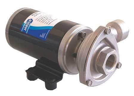 JABSCO 50860-0012 Stainless Steel 5/32 HP Centrifugal Pump 12V