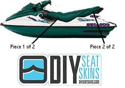 GTS GTX SEA DOO GREEN Seat Skin Cover 96 97 98 99 00 01