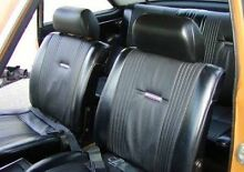 WTB Datsun 1600 Front seats and steering wheel Leichhardt Leichhardt Area Preview