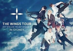 STANDING R [BTS Wings Tour in Sydney] Sydney City Inner Sydney Preview