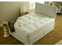 🔵💖🔴BEST PRICE OFFER 🔵💖🔴SINGLE , DOUBLE, KING SIZE DIVAN BED BASE WITH SPRUNG MATTRESSES