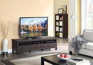 NEW* HOMETRENDS FLAT TV CONSOLE  PANEL ENTERTAINMENT CENTRE 85276246