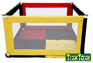 Tikk Tokk Cloth Playpen with two mats   Great playpen, ball pit or jus