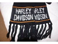 One genuine Harley Davidson neck scarf; imported from the USA and never been used.