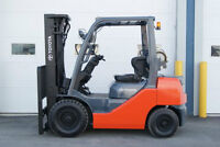 toyota forklift chariot elevateur