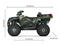 Polaris Sportsman X2 570 EPS EU EPS - New 2021 model Unsold unit arriving Soon!