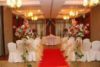 Wedding Decor,floral,catering ,hall  $6,500.00 Reg $10,700.00