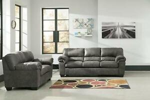 Brand New Stylish Ashley Sofa and Loveseat Set - Payment Plans Available