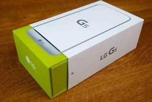 Lg G5 32GB silver brand new sealed in a box with rogers.