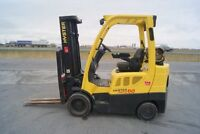 forklift,chariot elevateur, hyster 5000lbs cushion.no 8182