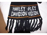 One genuine Harley Davidson neck scarf; imported from the USA