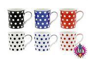 Red Polka Dot Mugs