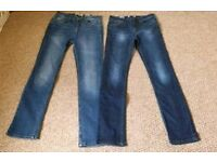 Fat Face Jeans. Ladies - Size 8. Never Worn. 2 pairs available.