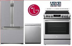 https://aniks.ca/ LG Kitchen Appliance Package Sale LFNS22520S-LSE4611ST-LDS5540ST