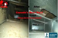 Furnace and air duct cleaning only$189.99!!!