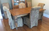 Set of 8 or 4 Parson Dining chairs