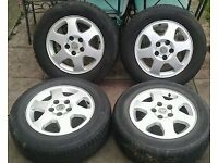 I have a setr of zafira alloys for sale, PCD of 5x110, all legal tyres. need them gone