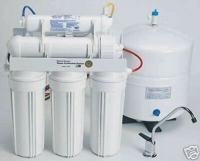 RESIDENTIAL HOME HOUSEHOLD DRINKING PURE WATER RO REVERSE OSMOSIS FILTER SYSTEM