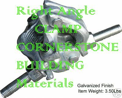 Cbm Scaffolding 8 Forged Galvanized Right Angle Clamps Aka Rigid Clamps Cbm