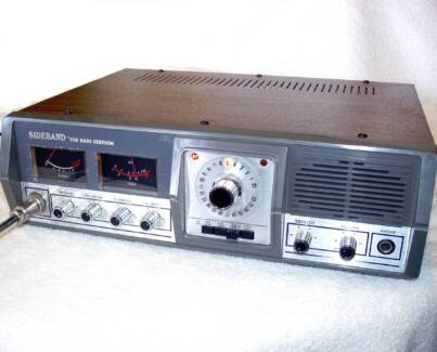 Vintage AM/SSB Kraco Deluxe 27Mhz Base Station with mic JG1