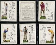 Players Golf Cigarette Cards
