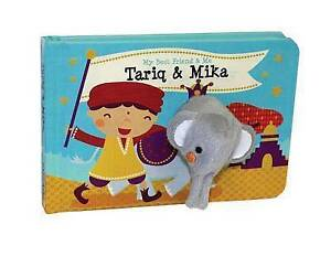 Tariq & Mika Finger Puppet Book My Best Friend & Me Finger Puppe by Wehrmeijer A