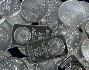 Wanted:Silver coins and bars