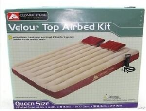 Ozark Trail Queen Air Bed with Pump