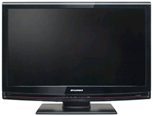 32 INCH TV AND DVD COMBO BY SYLVANIA
