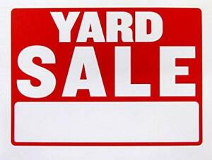 **HUGE MOVING AND MULTI-FAMILY YARD SALE**