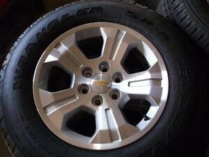 Chev tahoe,silverado ,suburban 18 factory wheels tires new--NEW