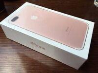 I phone 7 plus 256 rose gold.