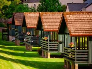 Chalet - 5 nights - Pitlochry, Scotland  Sept 6, 7, 8, 8, 10/18