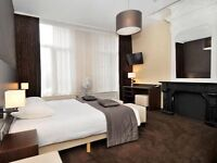 Flight & Accomodation to Amsterdam TOMORROW morning 20th November- boutique hotel dam square