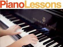 PIANO or KEYBOARD LESSONS - ALL AGES Greenwith Tea Tree Gully Area Preview